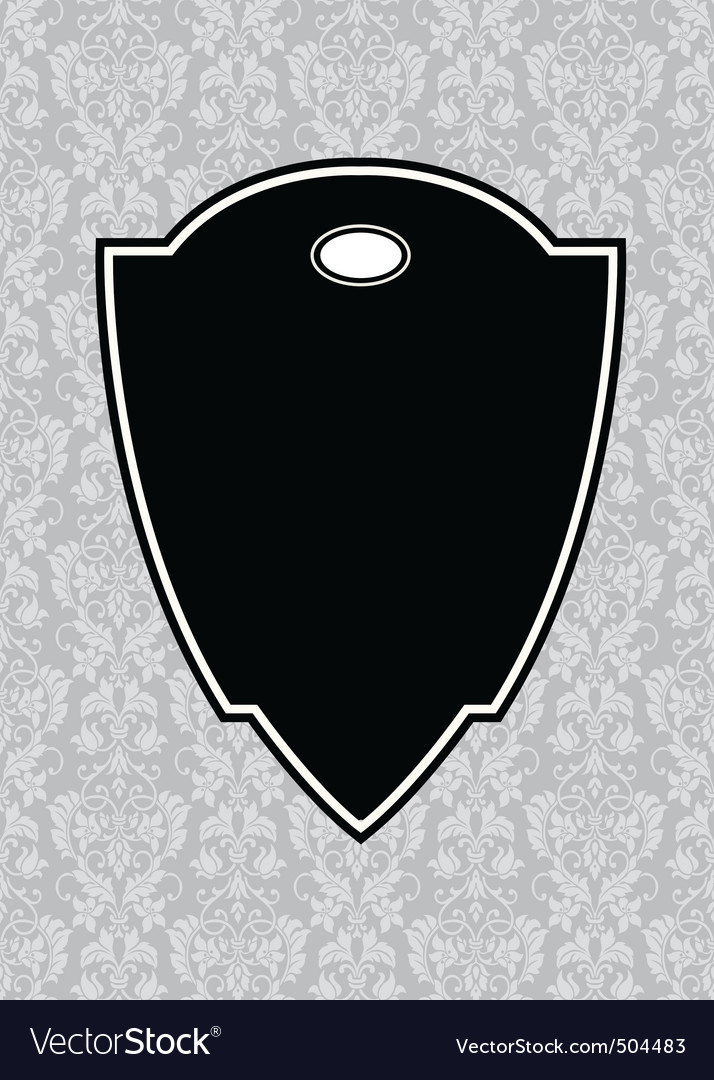 black pointed frame and background vector | Price: 1 Credit (USD $1)