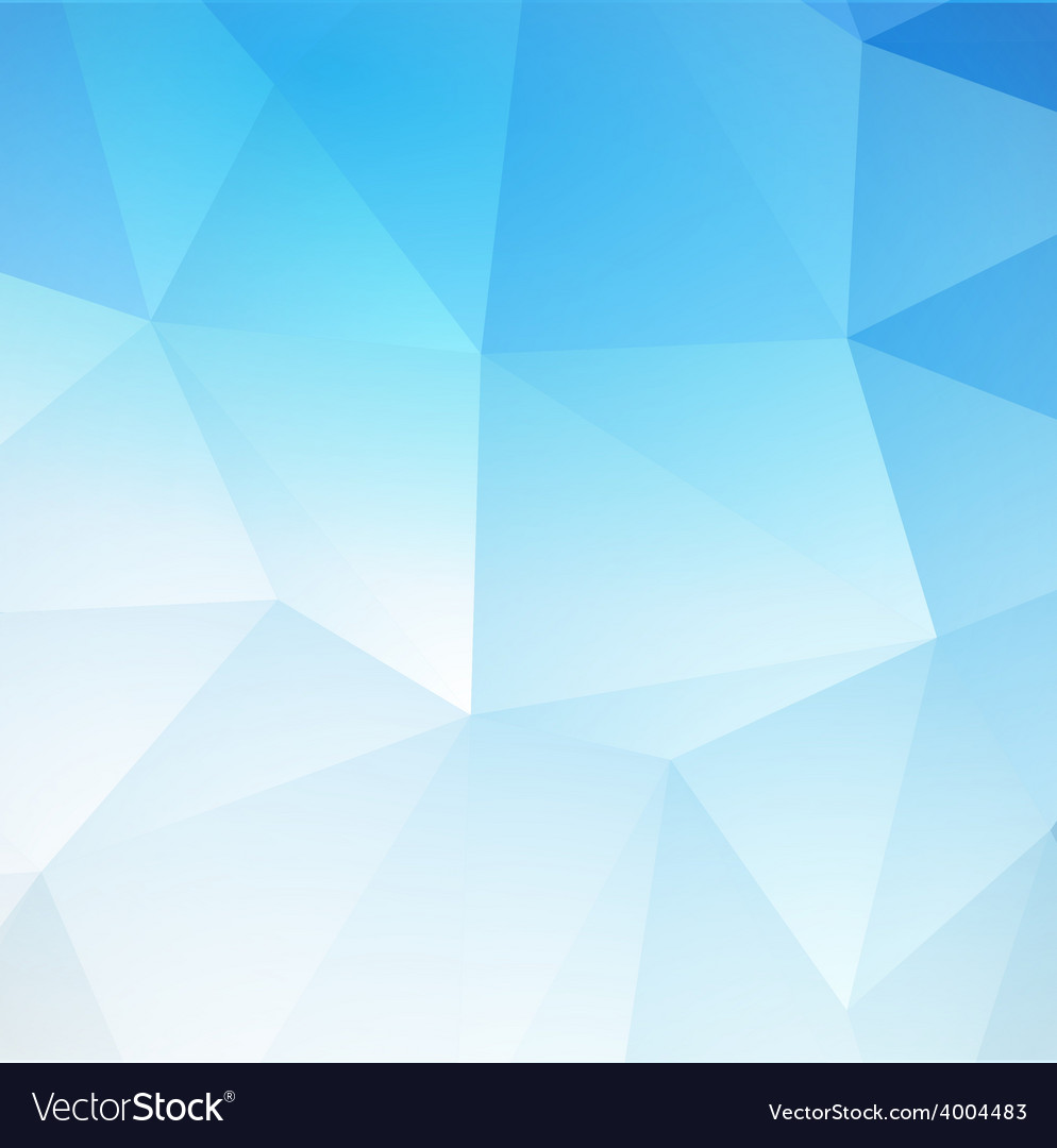 Blue abstract triangular background vector | Price: 1 Credit (USD $1)