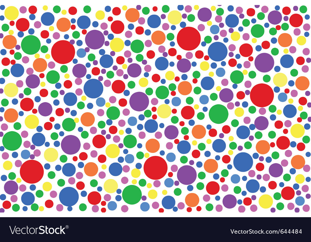 Colored specks vector | Price: 1 Credit (USD $1)