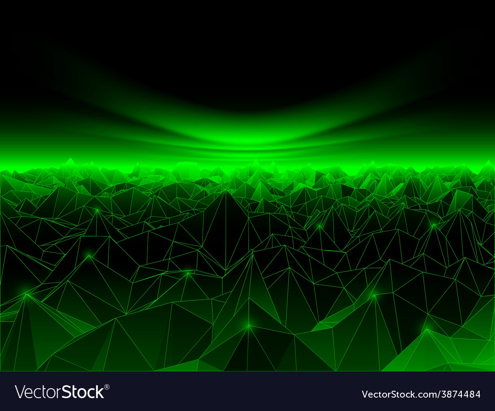 Computer cyberspace background vector | Price: 1 Credit (USD $1)