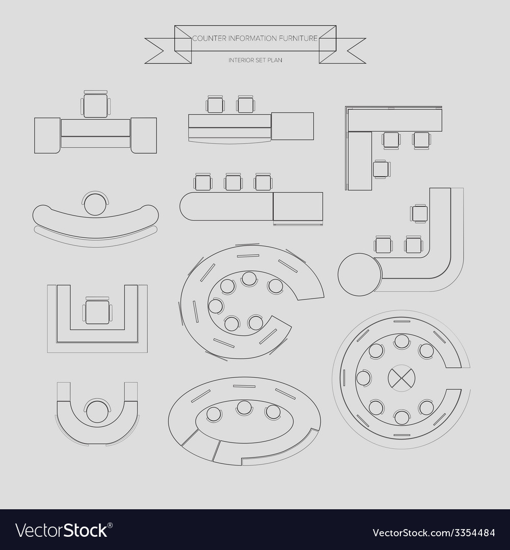 Counter information outline icon vector | Price: 1 Credit (USD $1)