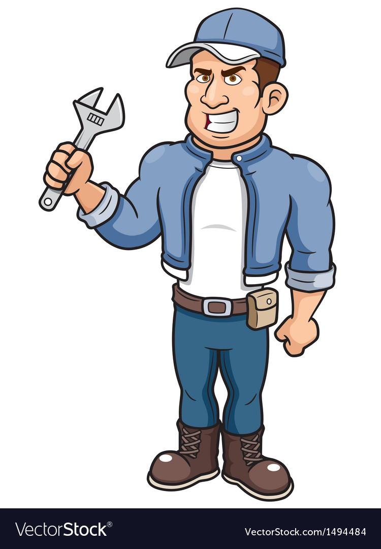 Man mechanic vector   Price: 1 Credit (USD $1)