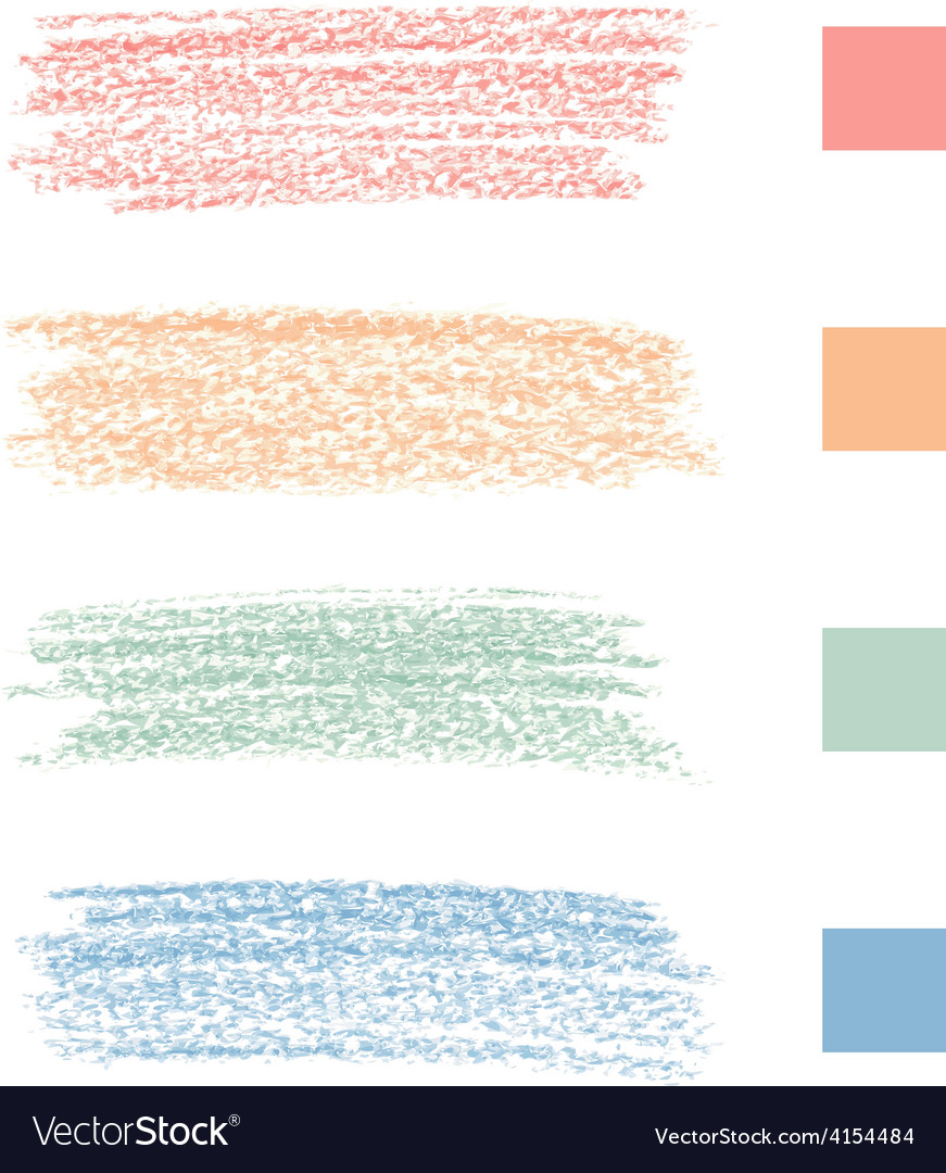 Pastel chalks vector   Price: 1 Credit (USD $1)