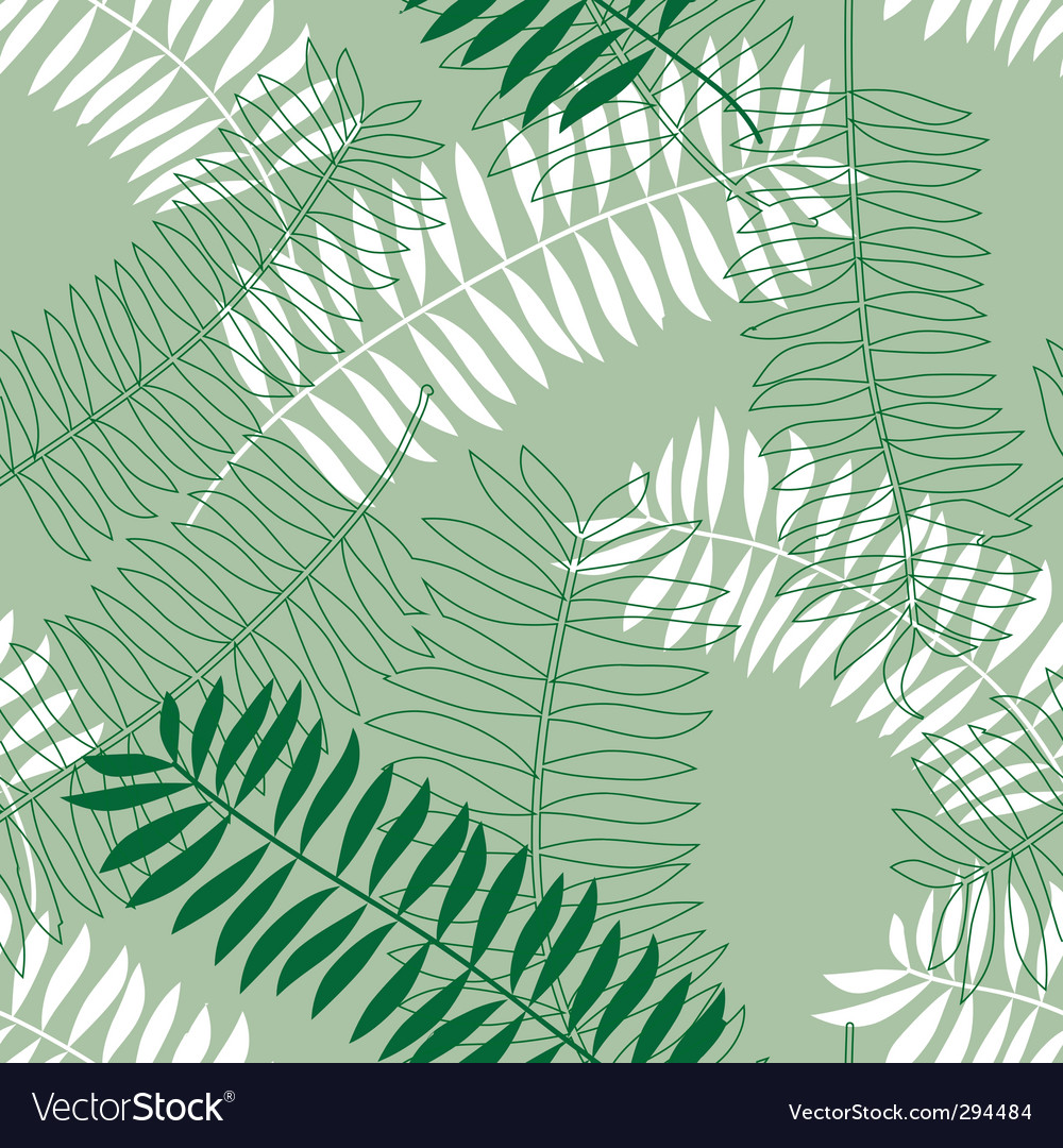 Seamless background with colored leaves vector | Price: 1 Credit (USD $1)