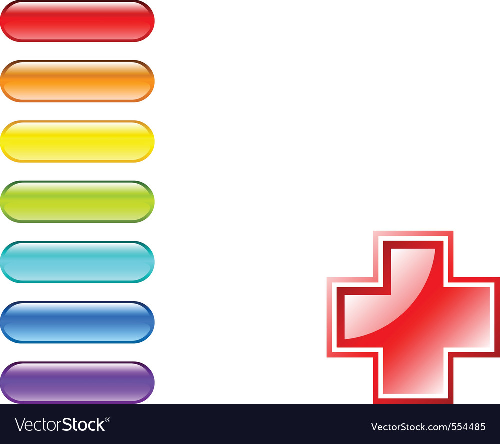 Medical pills vector | Price: 1 Credit (USD $1)