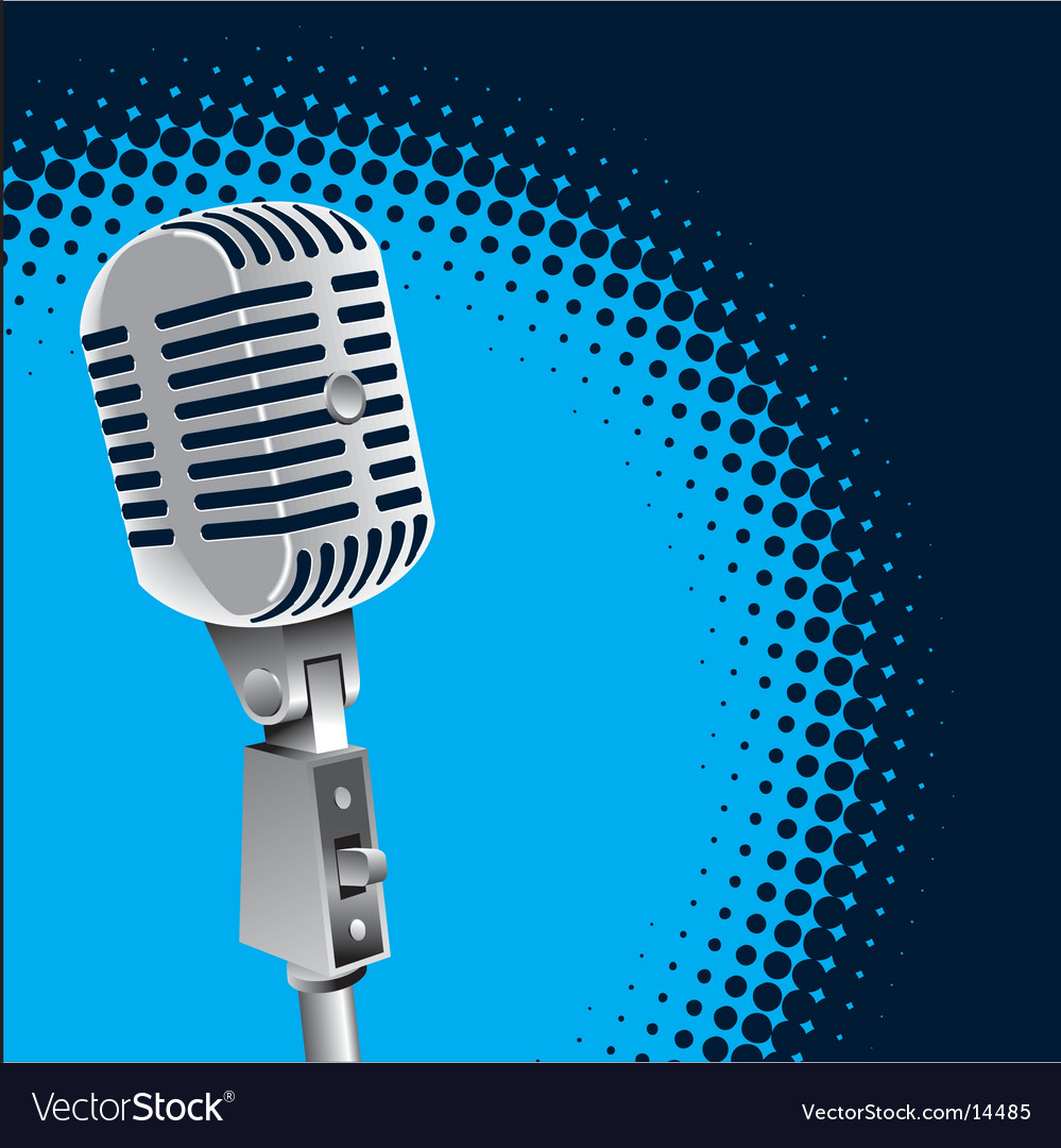 Mic vector | Price: 1 Credit (USD $1)