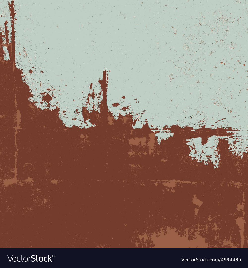 Rusty texture grunge background vector
