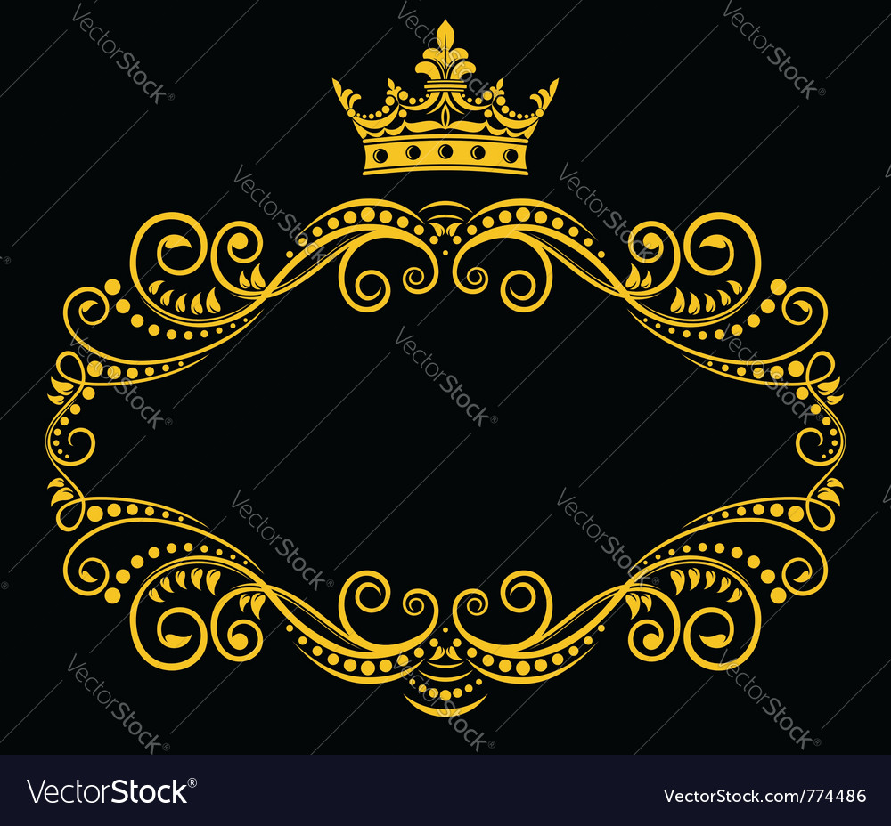 Medieval frame vector | Price: 1 Credit (USD $1)