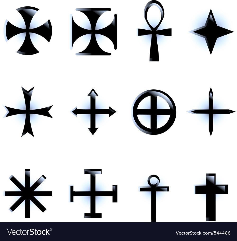various religious symb vector | Price: 1 Credit (USD $1)