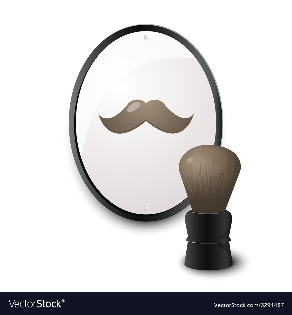 Accessories for shaving vector | Price: 1 Credit (USD $1)