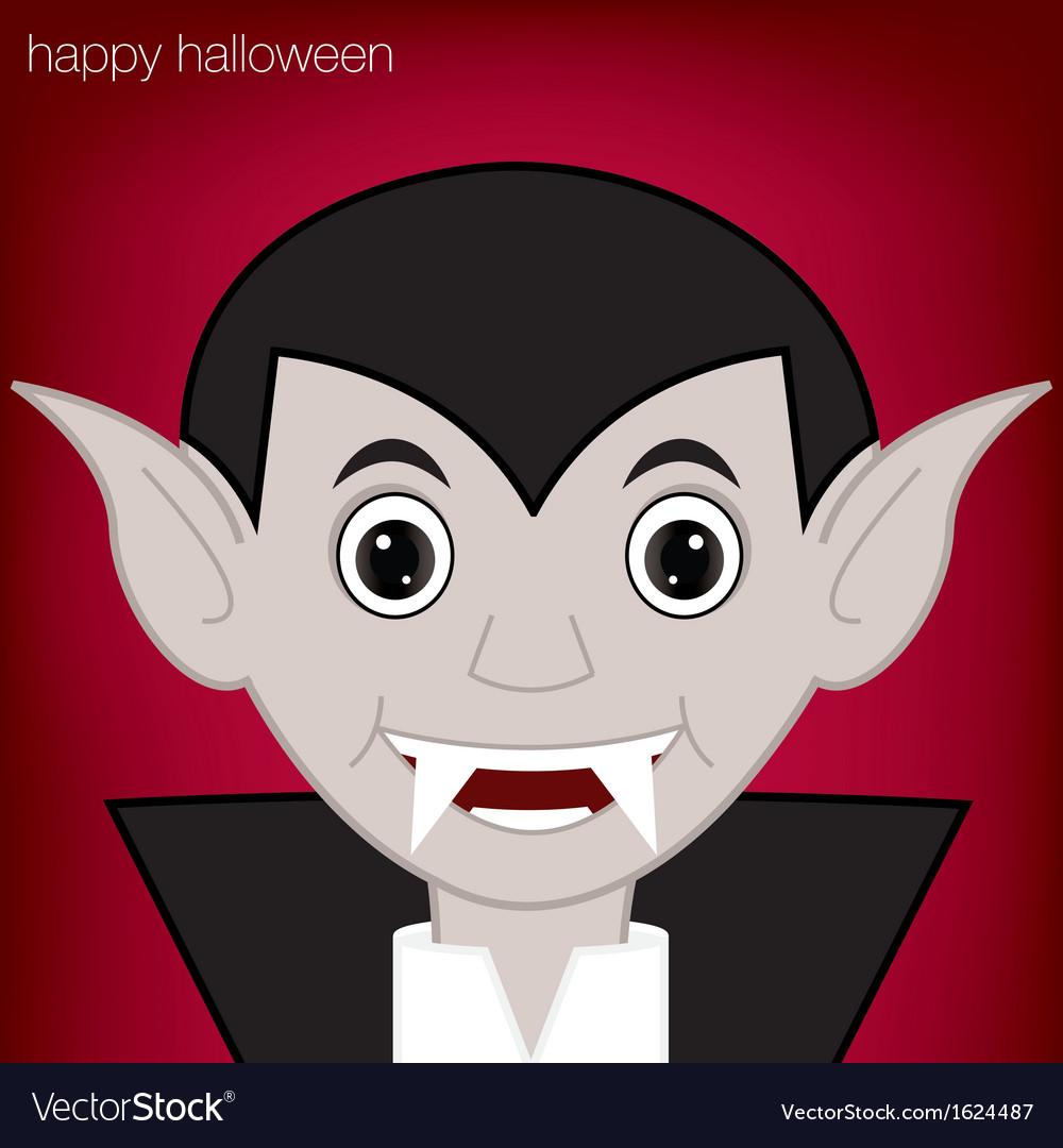 Halloween vampire vector | Price: 1 Credit (USD $1)