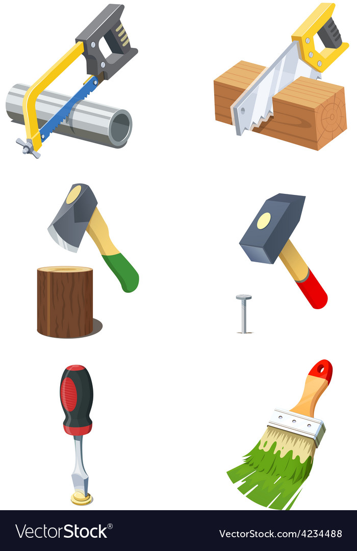 Tools set of icon vector | Price: 3 Credit (USD $3)