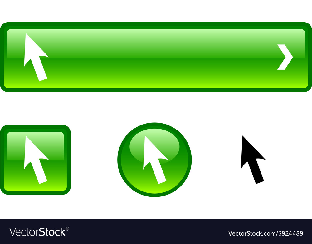 Cursor button set vector   Price: 1 Credit (USD $1)