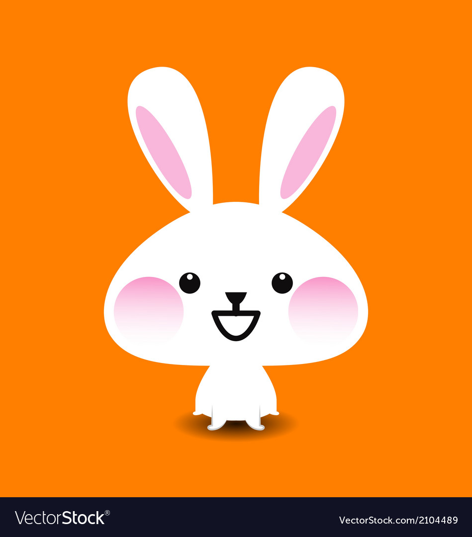 Cute rabbit vector | Price: 1 Credit (USD $1)