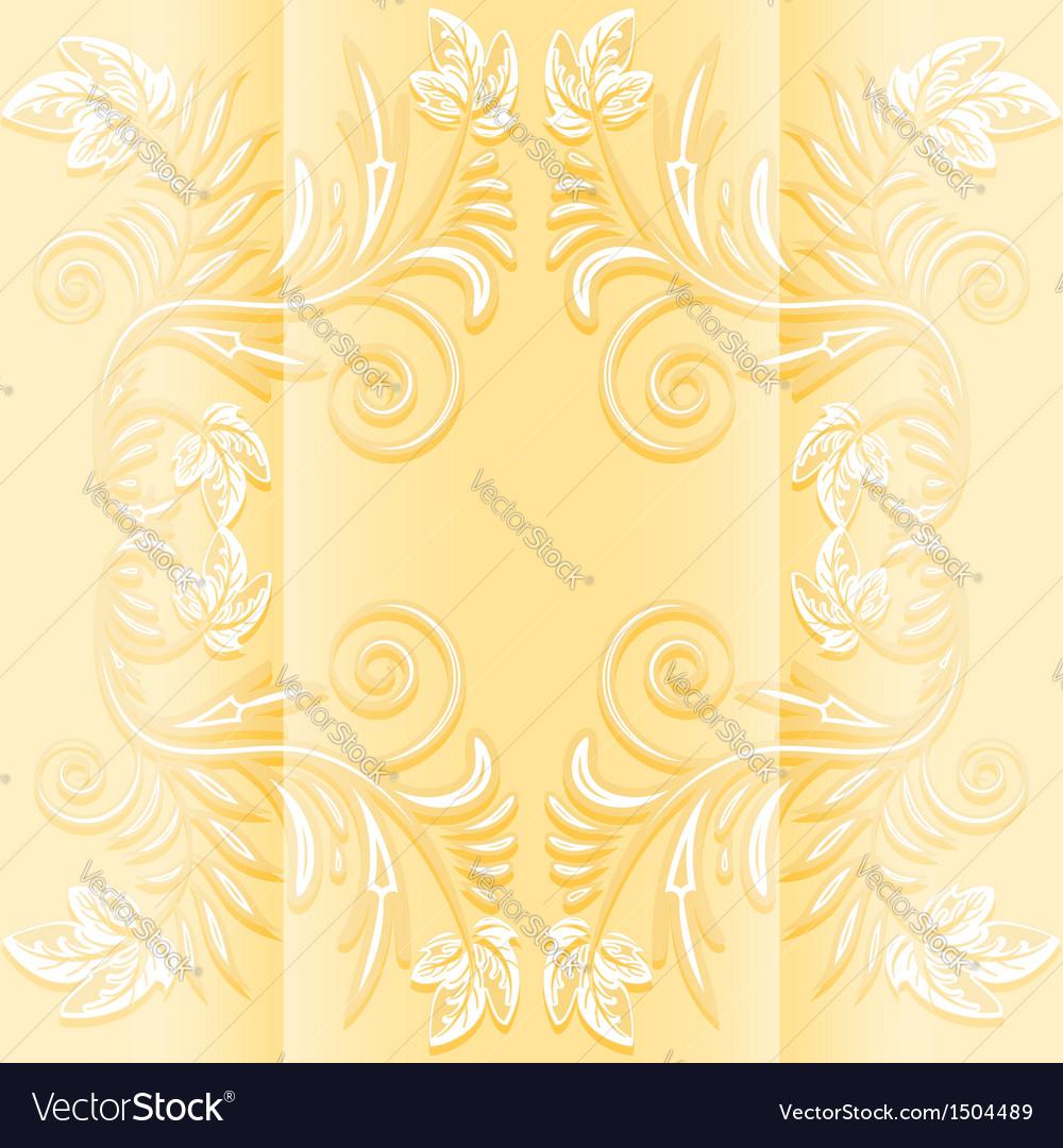 Flower invitation vector | Price: 1 Credit (USD $1)