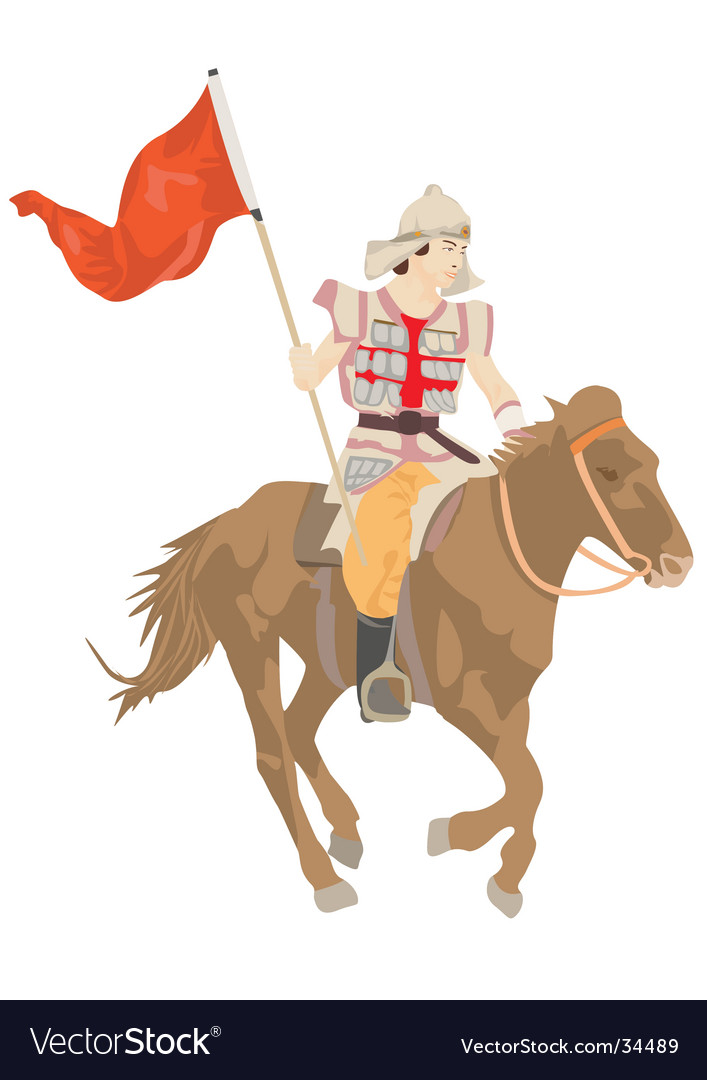Horseman vector | Price: 3 Credit (USD $3)
