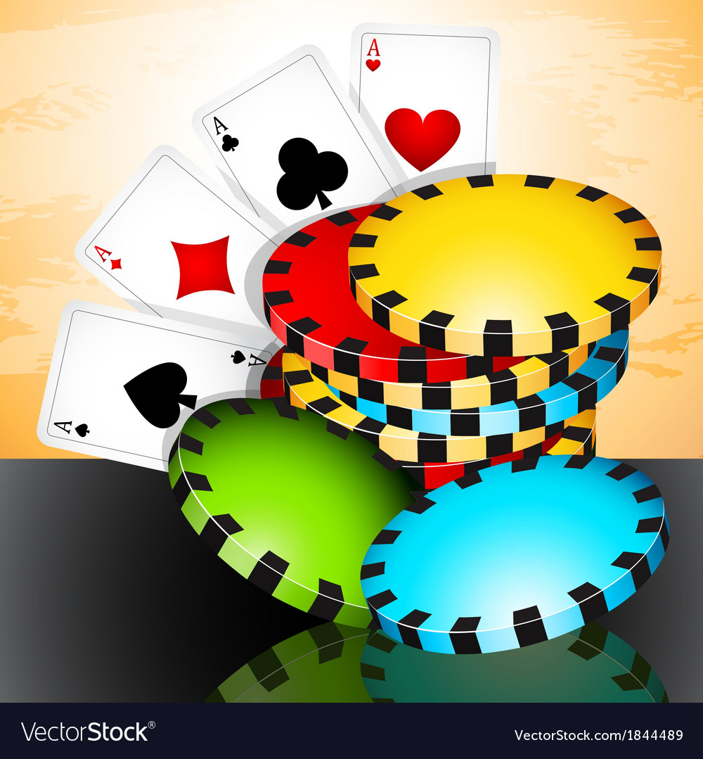 Poker time vector | Price: 3 Credit (USD $3)