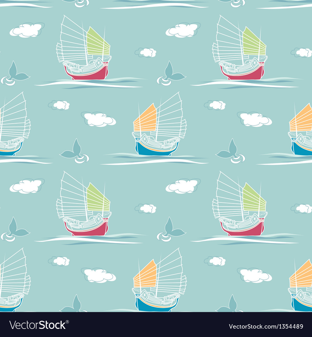 Sailing pattern vector | Price: 1 Credit (USD $1)