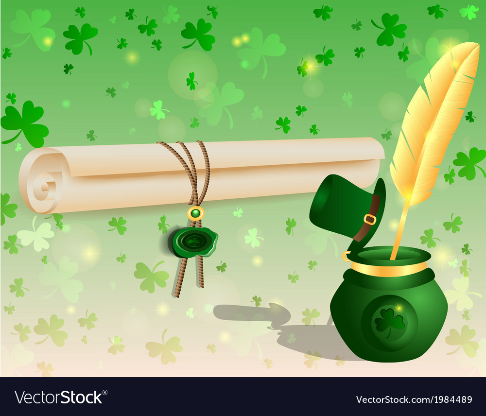 St patricks day3 vector | Price: 1 Credit (USD $1)
