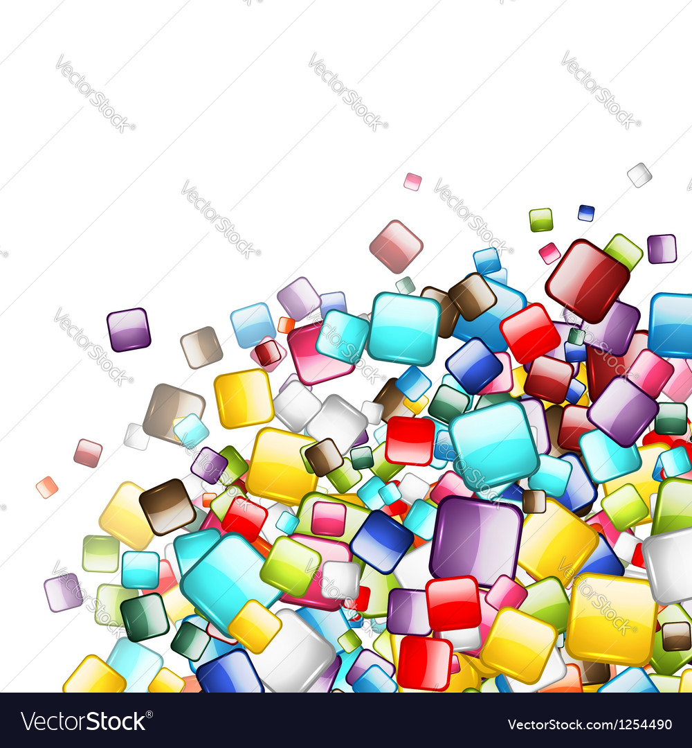 Abstract web buttons background for your design vector | Price: 1 Credit (USD $1)
