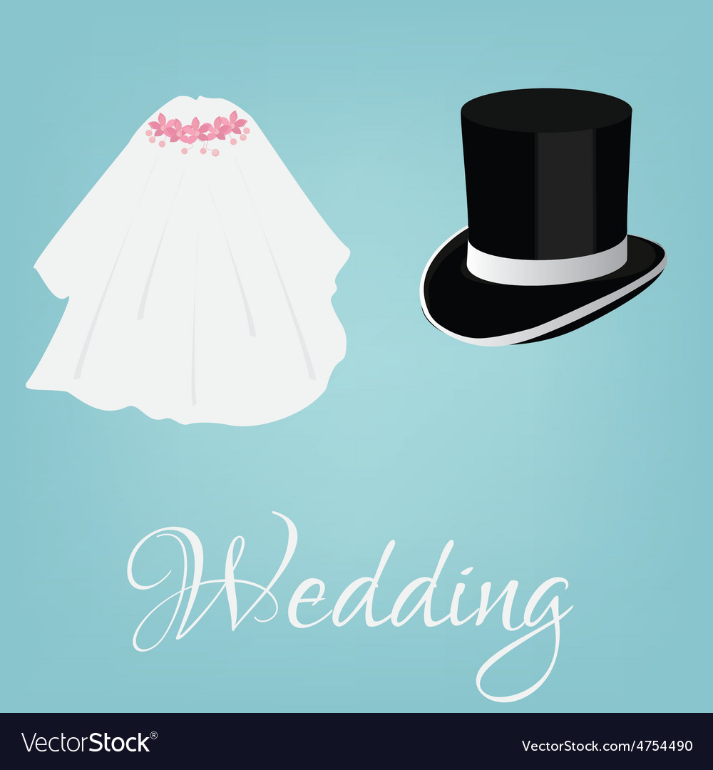 Bride and grooom vector | Price: 1 Credit (USD $1)