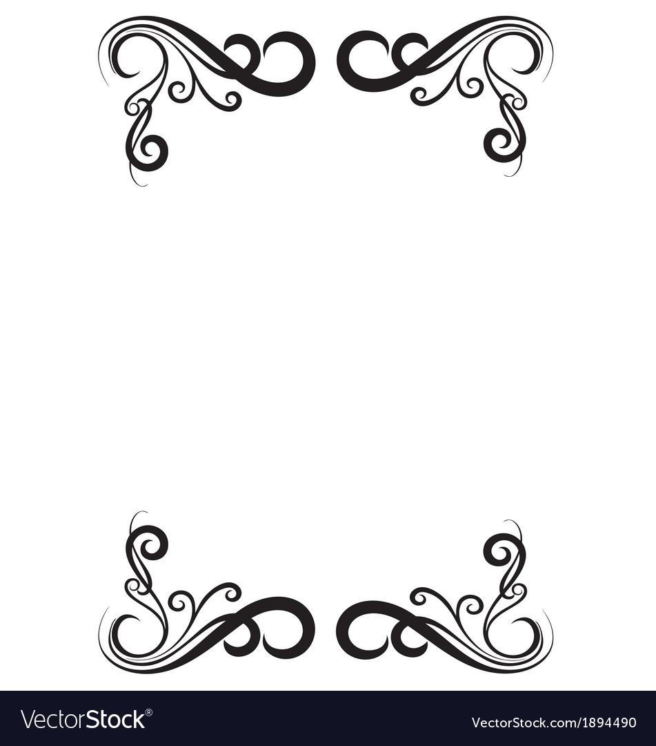 Decorative page border vector   Price: 1 Credit (USD $1)