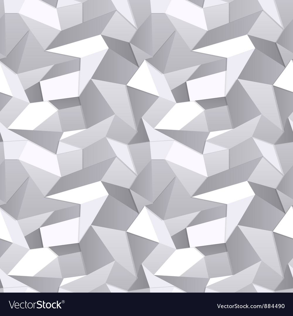 Seamless crumpled paper abstract background vector | Price: 1 Credit (USD $1)