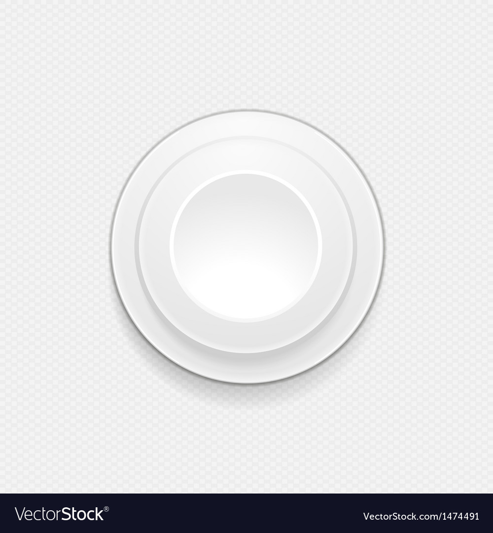 3d white button background vector | Price: 1 Credit (USD $1)