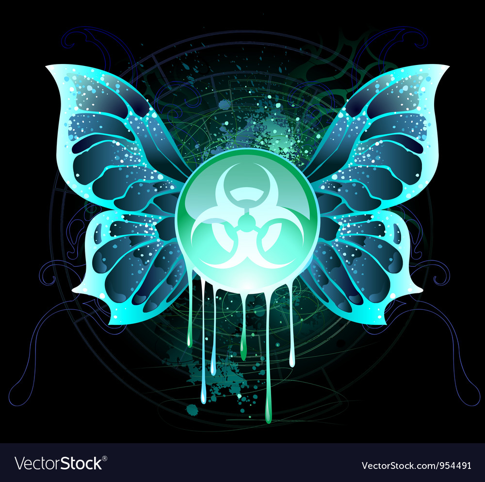 Biological danger vector | Price: 1 Credit (USD $1)