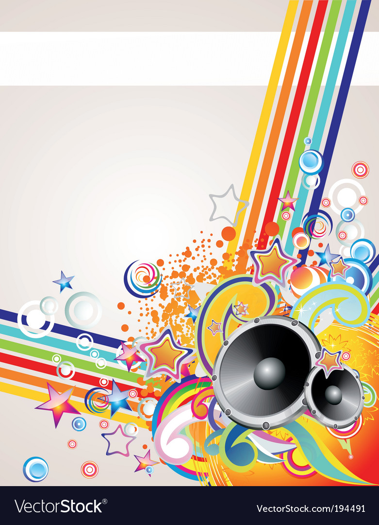 Music abstract background vector | Price: 3 Credit (USD $3)