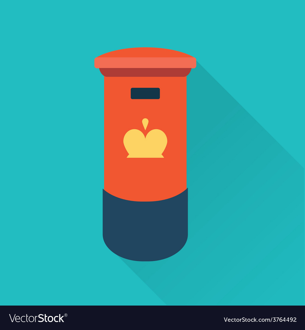 British mail box vector | Price: 1 Credit (USD $1)