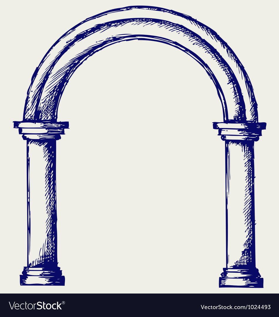 Arch vector | Price: 1 Credit (USD $1)