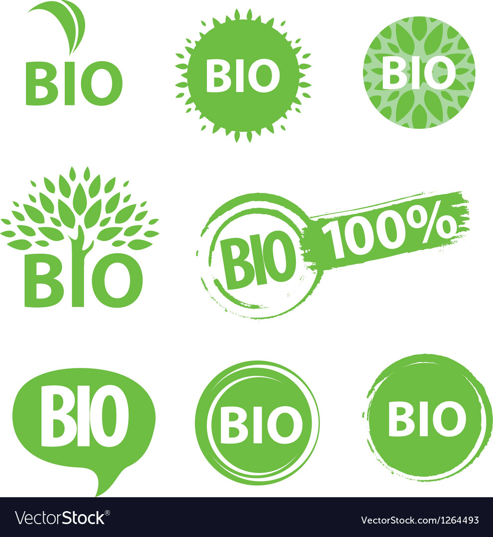 Bio logo vector | Price: 1 Credit (USD $1)