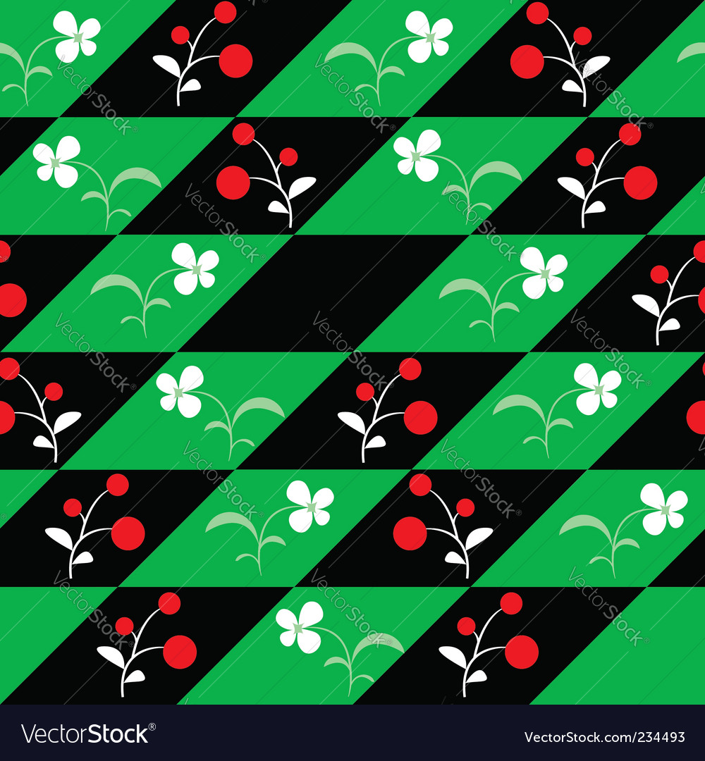 Flowers seamless pattern vector   Price: 1 Credit (USD $1)