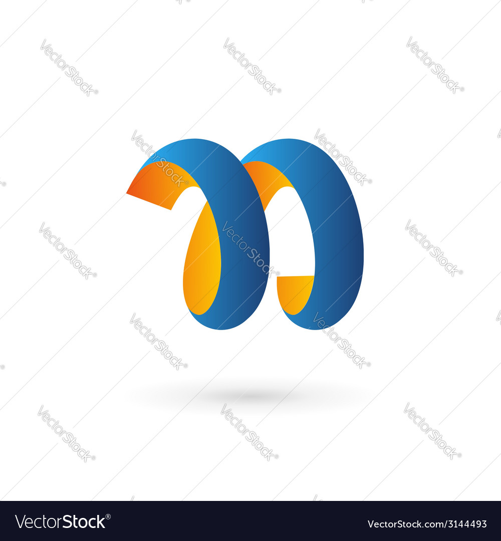 Letter n logo icon design template elements vector   Price: 1 Credit (USD $1)