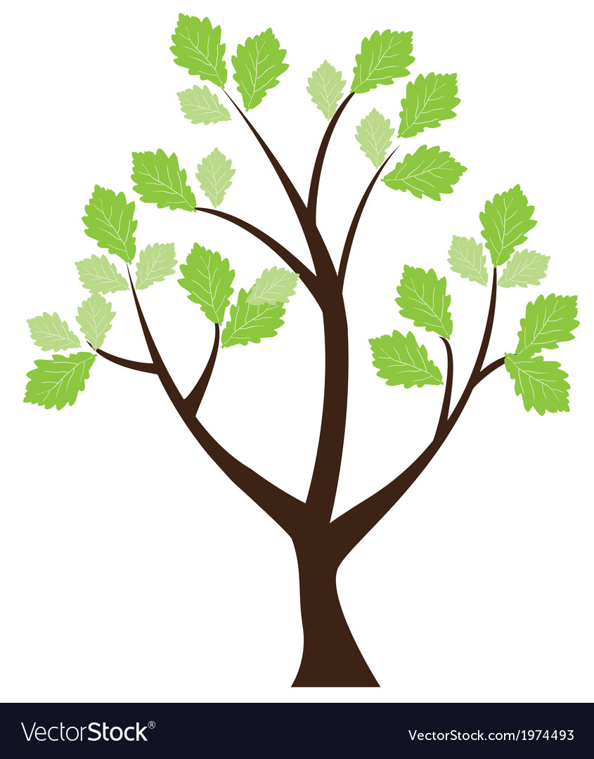 Tree abstract vector | Price: 1 Credit (USD $1)