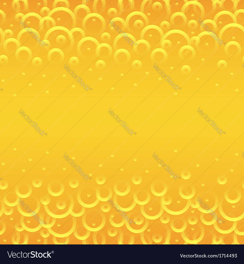 Yellow circles background vector | Price: 1 Credit (USD $1)