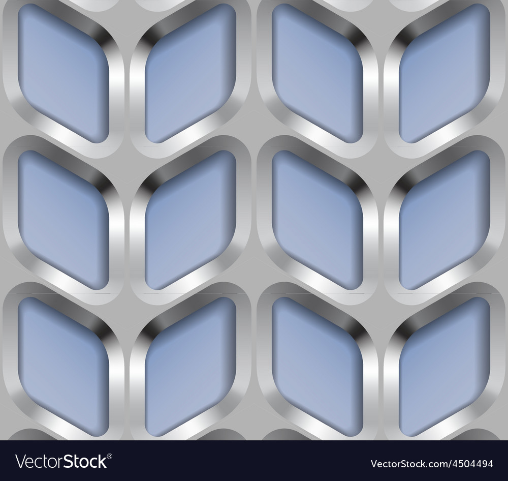 Abstract metal lattice seamless pattern vector | Price: 1 Credit (USD $1)