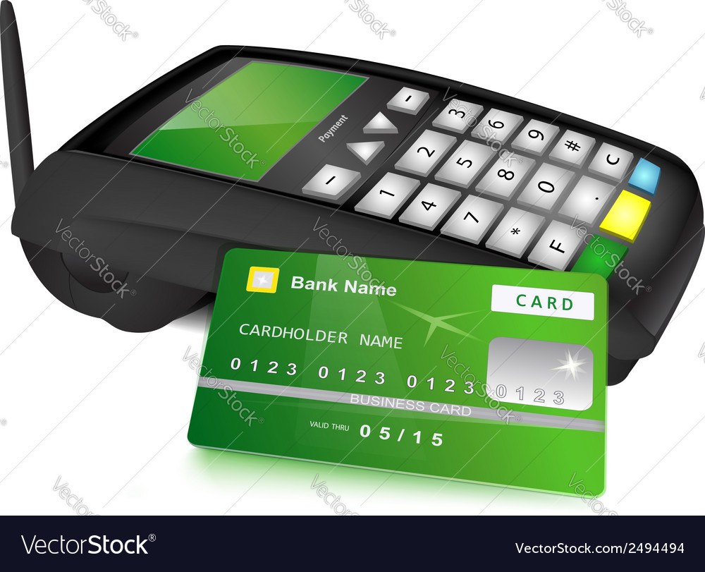 Payments concept vector | Price: 1 Credit (USD $1)