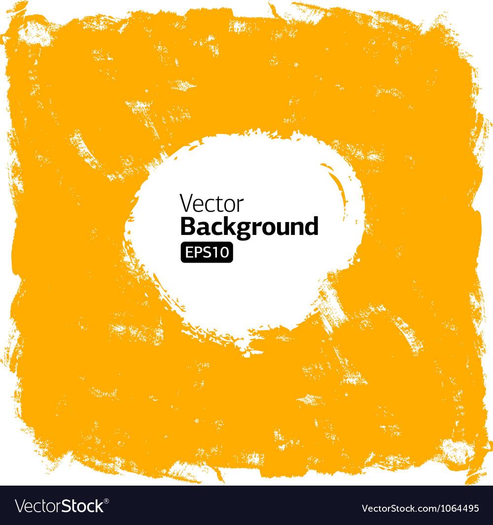 Grunge orange background vector | Price: 1 Credit (USD $1)