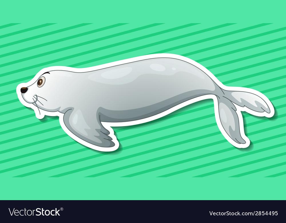 Sea lion vector | Price: 1 Credit (USD $1)