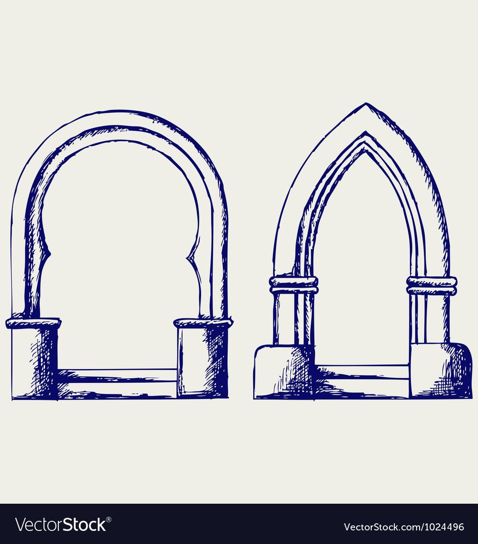 Arch vector | Price: 1 Credit (USD $1)
