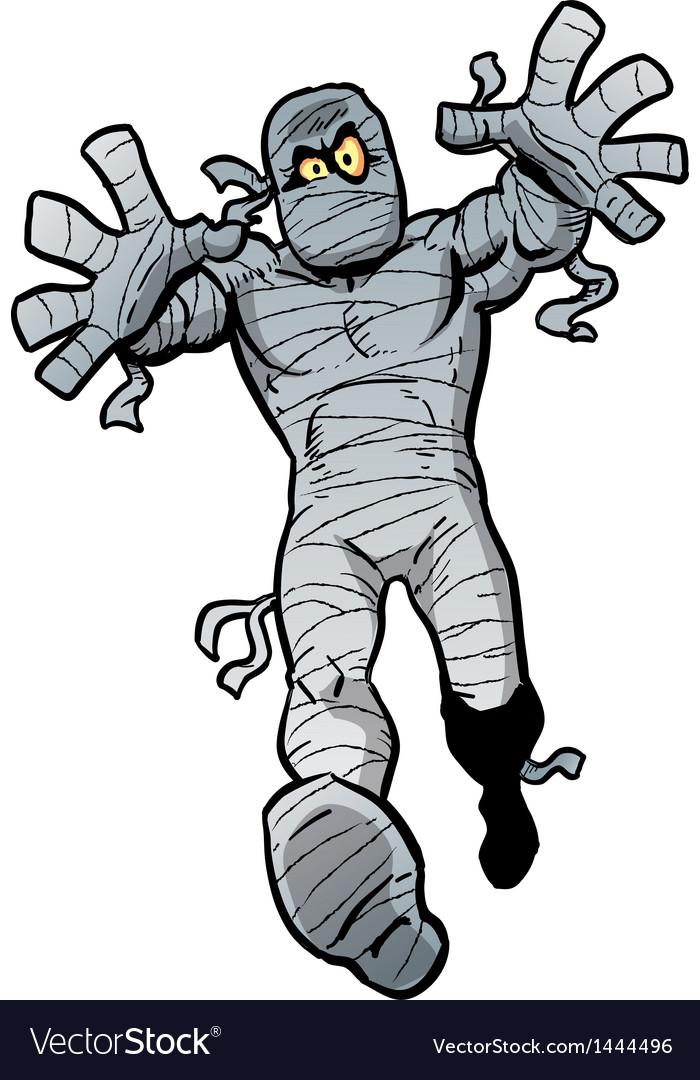 Mad mummy vector | Price: 1 Credit (USD $1)