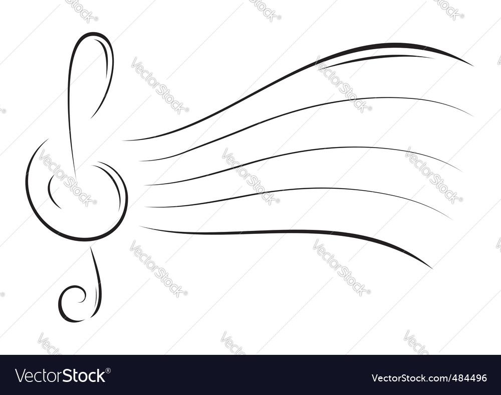 Music sketch vector | Price: 1 Credit (USD $1)
