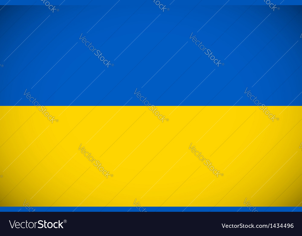 National flag of ukraine vector | Price: 1 Credit (USD $1)