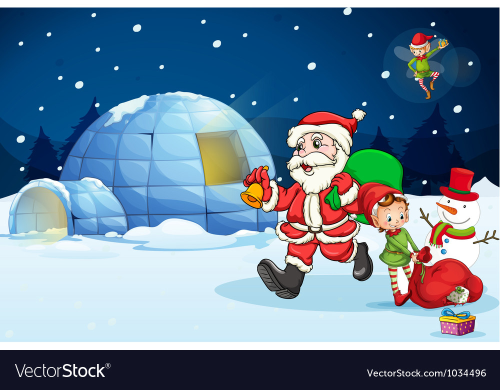 North pole vector | Price: 1 Credit (USD $1)