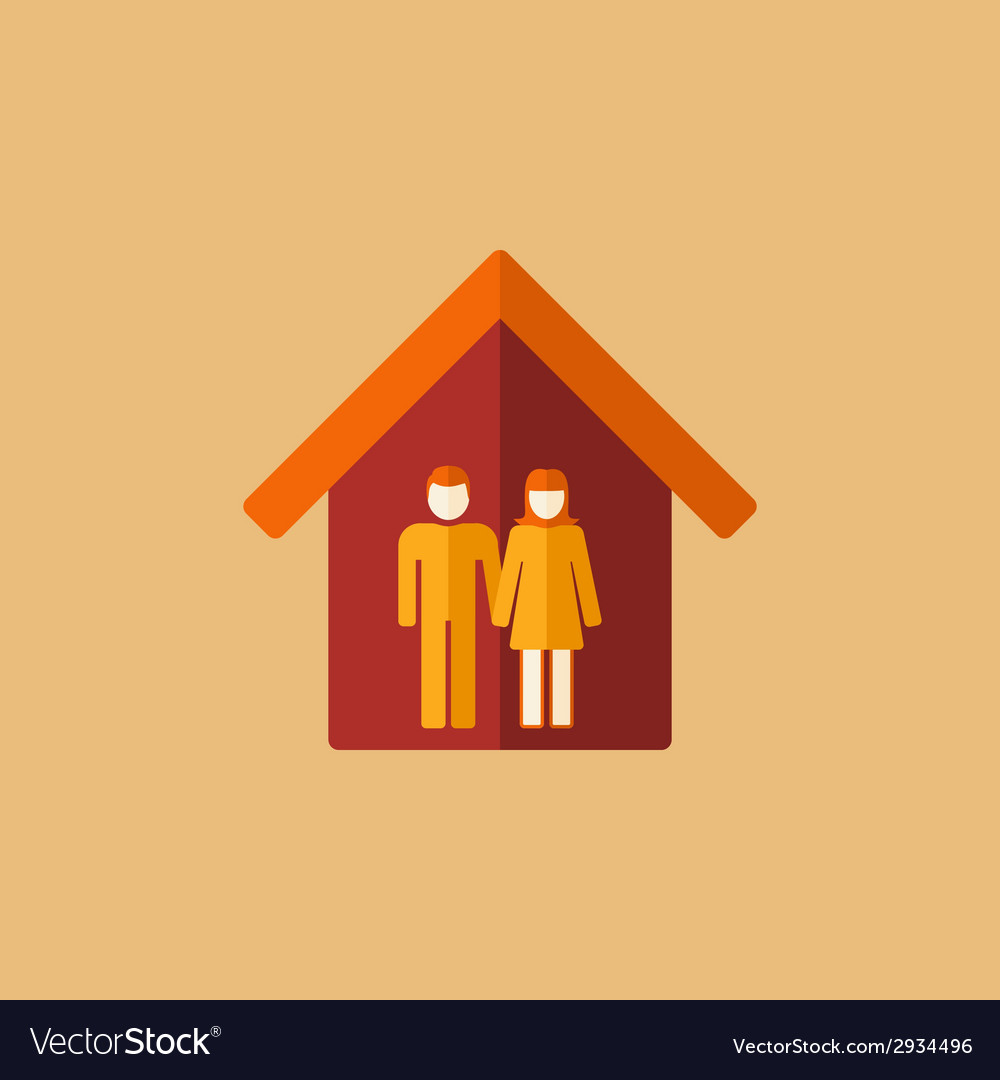 Real estate icon vector | Price: 3 Credit (USD $3)