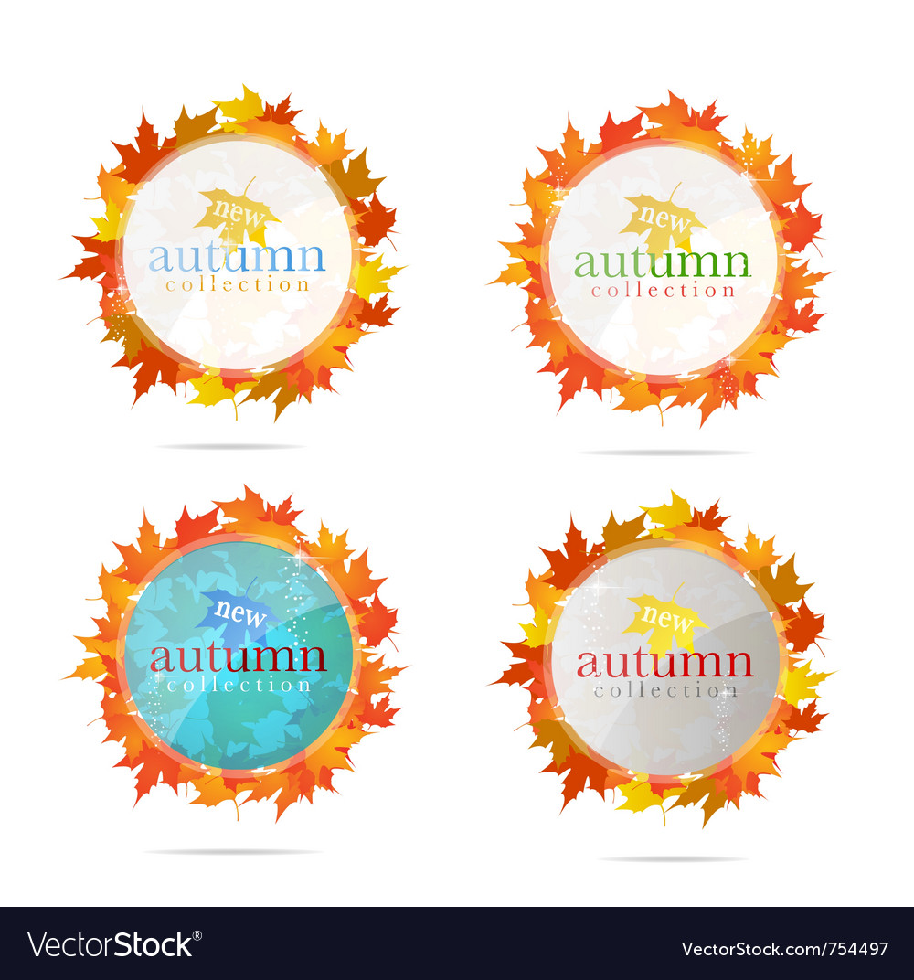 Abstract creative emblem sign set isolated vector | Price: 1 Credit (USD $1)