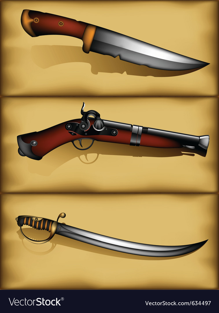 Ancient weapons vector | Price: 3 Credit (USD $3)