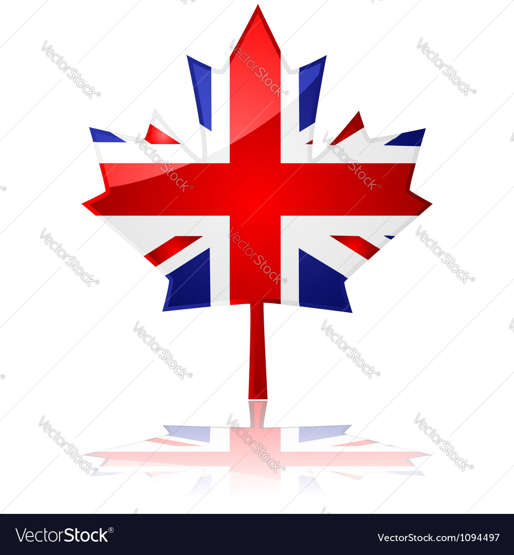 British maple leaf vector | Price: 1 Credit (USD $1)